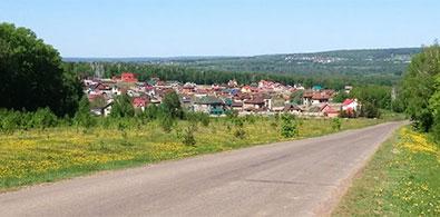 Поселок Акманай